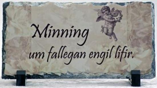 Mynd Myndasteinn - samúðartexti 1