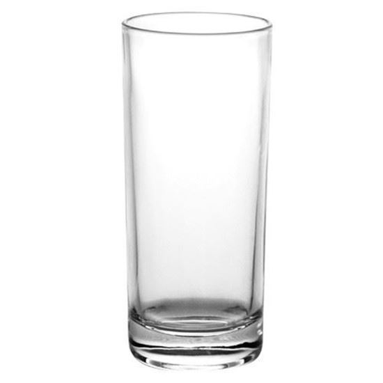 Picture of Simple Clear cylinder Vase-25cm
