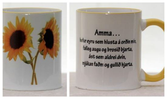 Picture of Coffee / Tea Mugs with quotes-Grandmother 1