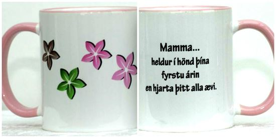 Picture of Coffee / Tea Mugs with quotes-Mom 1