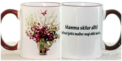 Picture of Coffee / Tea Mugs with quotes-Mom 2