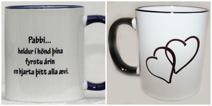 Picture of Coffee / Tea Mugs for Father with quote n.1