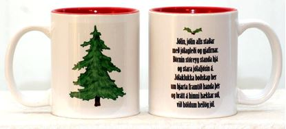 Picture of Coffee / Tea Mugs n. 2 with quotes for Christmas