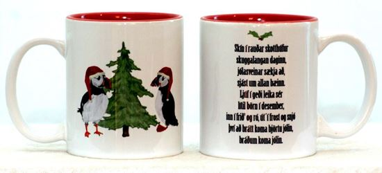Picture of Coffee / Tea Mugs n.3 with quotes for Christmas