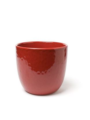 Picture of Ceramic pot red -15cm