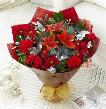 Picture for category Christmas flower bouquets