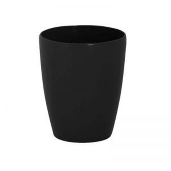 Picture of Ceramic pot black -15cm