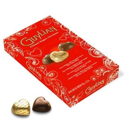 Picture of Guylian  Belgian chocolate box with chocolate hearts