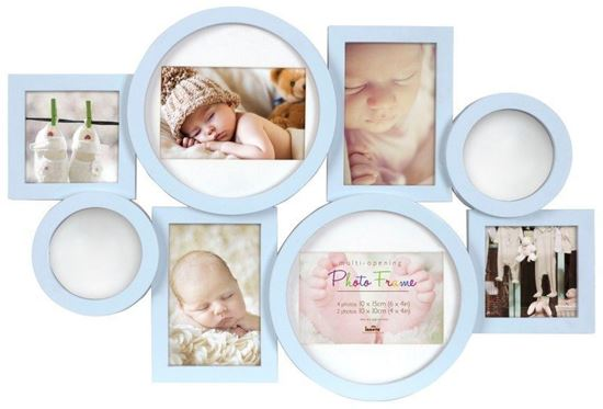 Picture of Baby memories picture frames-This collage photo frame makes a perfect gift for new parents.