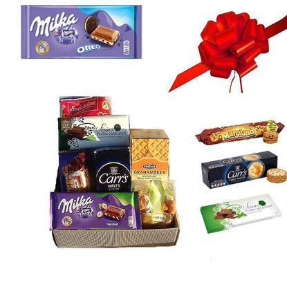 Picture of Special treat for friends  or coworkers Gift basket..