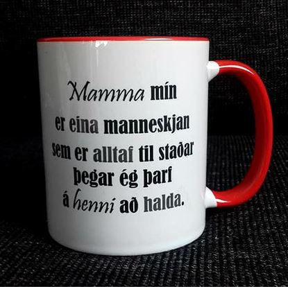 Picture of Coffee / Tea Mugs with quotes-Mom 3.