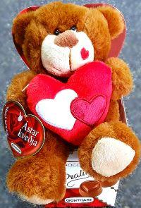 Teddy with chocolate [+2.990 kr.]